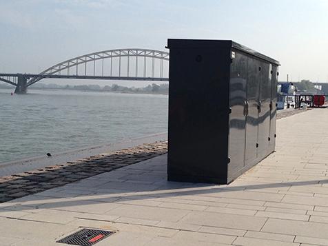 Waalstroomkasten Nijmegen